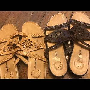 Thin McAn  leather sandals